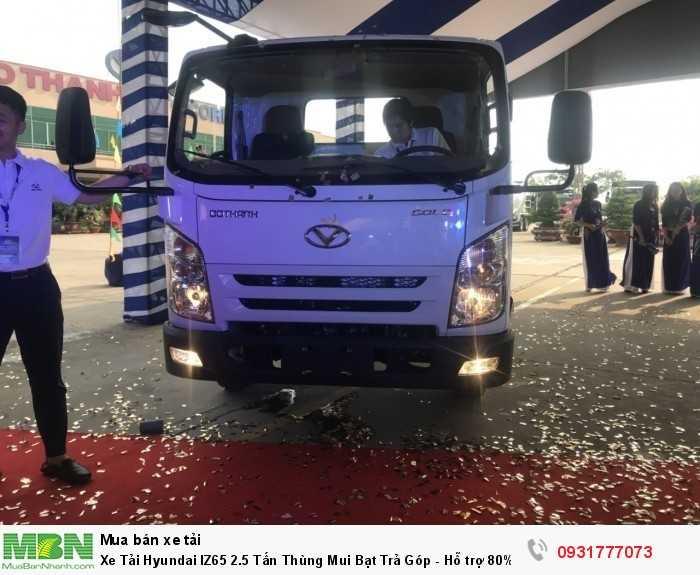 Xe Tải Hyundai IZ65 2.5 Tấn Thùng Mui Bạt Trả Góp - Hỗ trợ 80% Đặt  Xe Tặng Ngay Định Vị