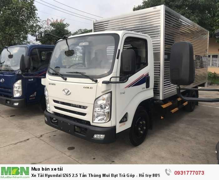 Xe Tải Hyundai IZ65 2.5 Tấn Thùng Mui Bạt - Đóng thùng theo yêu cầu khách hàng