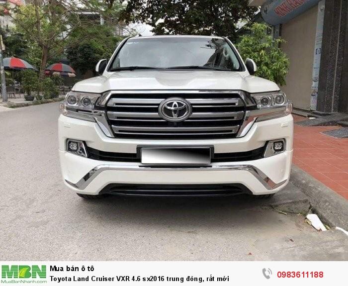 Toyota Land Cruiser VXR 4.6 sx2016 trung đông, rất mới