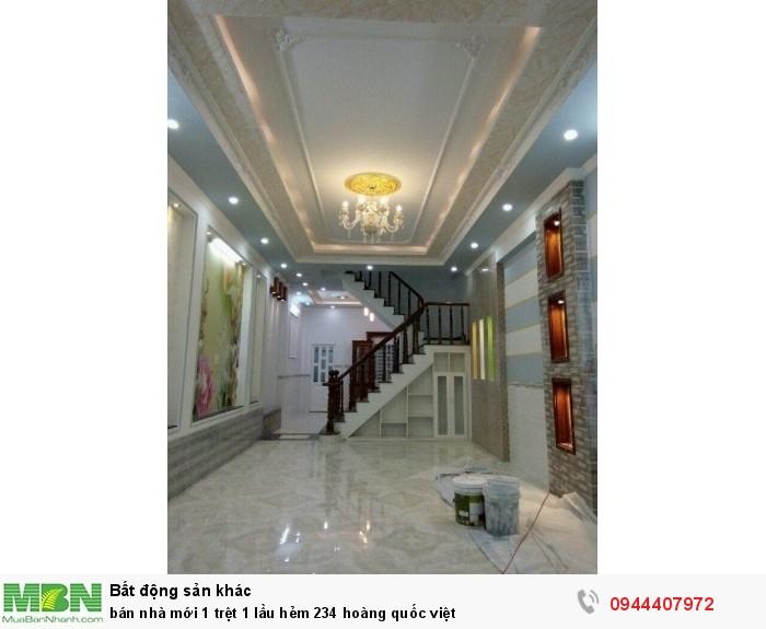 Bán nhà mới 1 trệt 1 lầu hẻm 234 Hoàng Quốc Việt