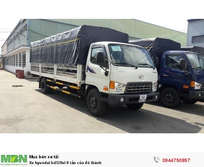 Xe Hyundai HD120SL 8 tấn của Đô Thành ,bán trả góp hằng tháng lải xuất thấp