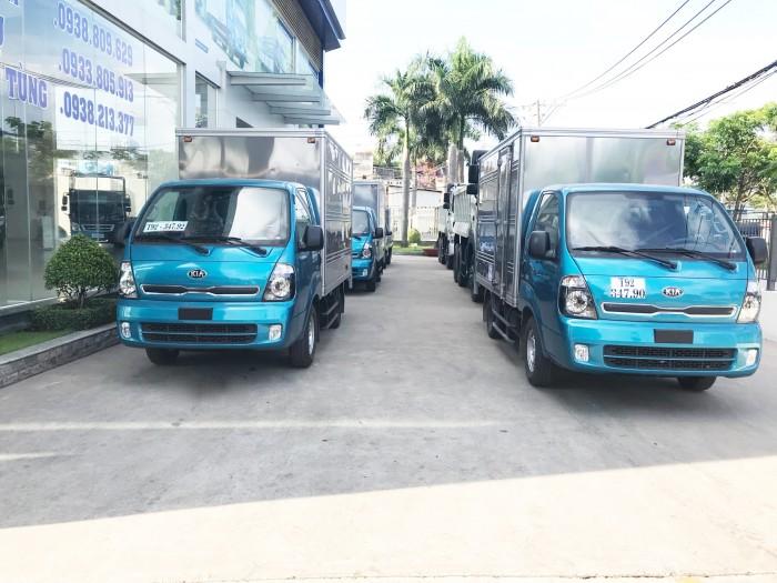 Bán xe Kia  K250 thùng mui bạt, K250 thùng kín tải 1,4 tấn và 2,4 tấn đời 2018 8