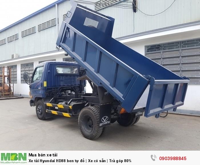 Xe tải Hyundai HD88 ben tự đổ | Xe có sẵn | Trả góp 80%
