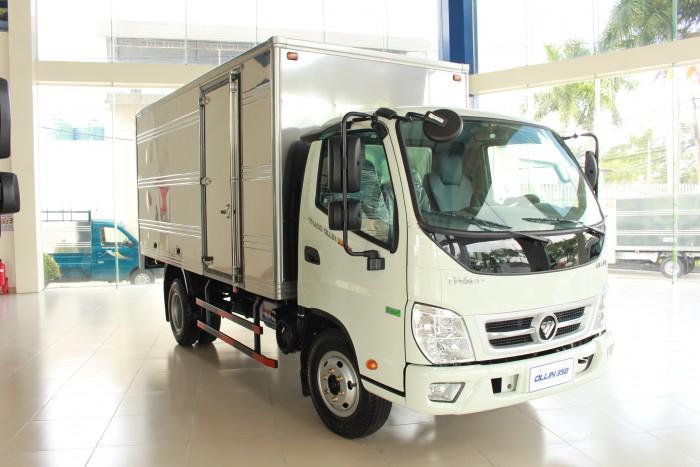 Xe tải Ollin 350 Euro 4 - động cơ euro 4, tiết kiệm nhiên liệu, lưu thông thành phố 0