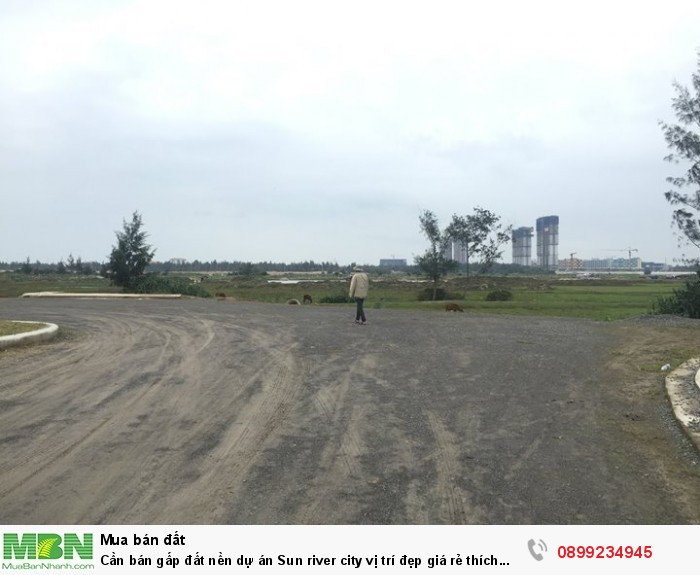 Cần bán gấp đất nền dự án Sun river city vị trí đẹp giá rẻ thích hợp nghĩ dưỡng