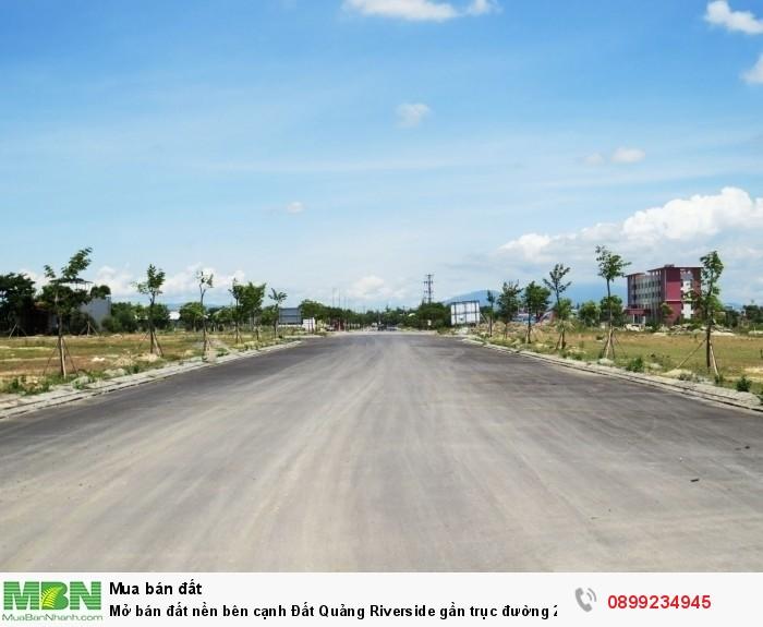 Mở bán đất nền bên cạnh Đất Quảng Riverside gần trục đường 27m ra biển chỉ từ 9,7tr/m2