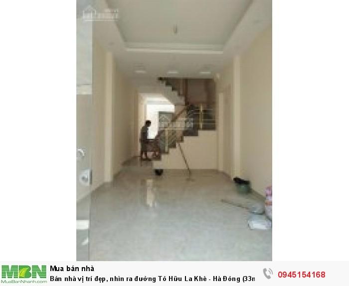 Bán nhà vị trí đẹp, nhìn ra đường Tô Hữu La Khê - Hà Đông (33m2*4 tầng)