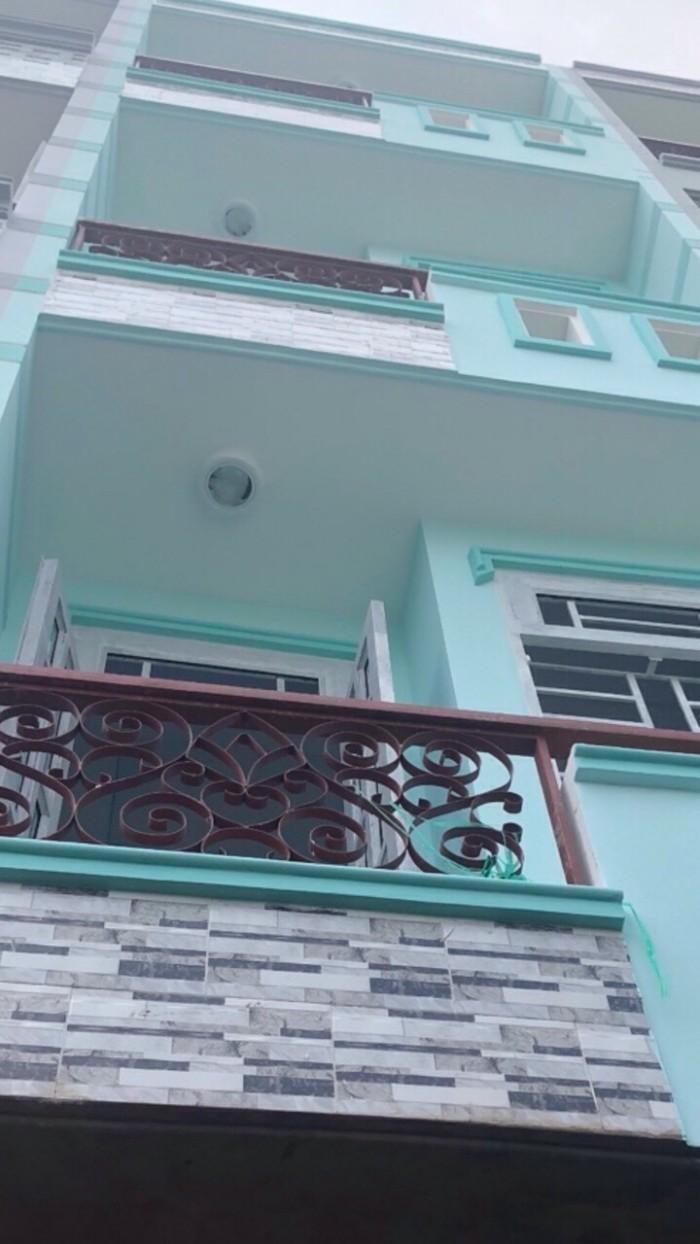 Hot Hot nhà chính chủ Bình Tân 1 trệt 3 lầu