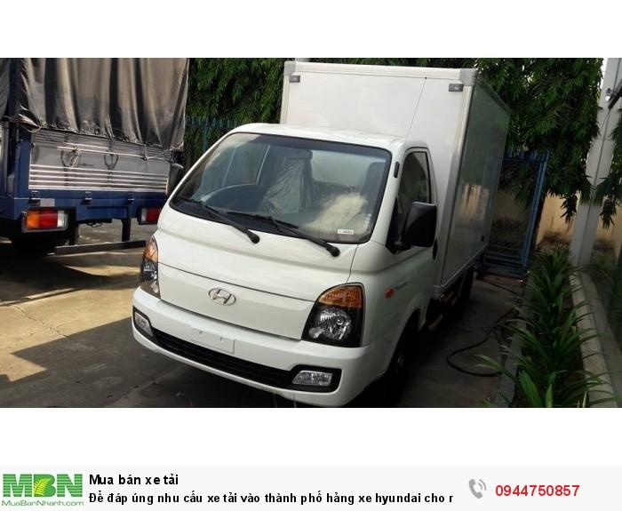 Xe Hyundai Porter  H150  1.5 tấn  nhập khâu từ hàng quốc . bán trả góp , hổ trợ vay ngân hàng 80% 2