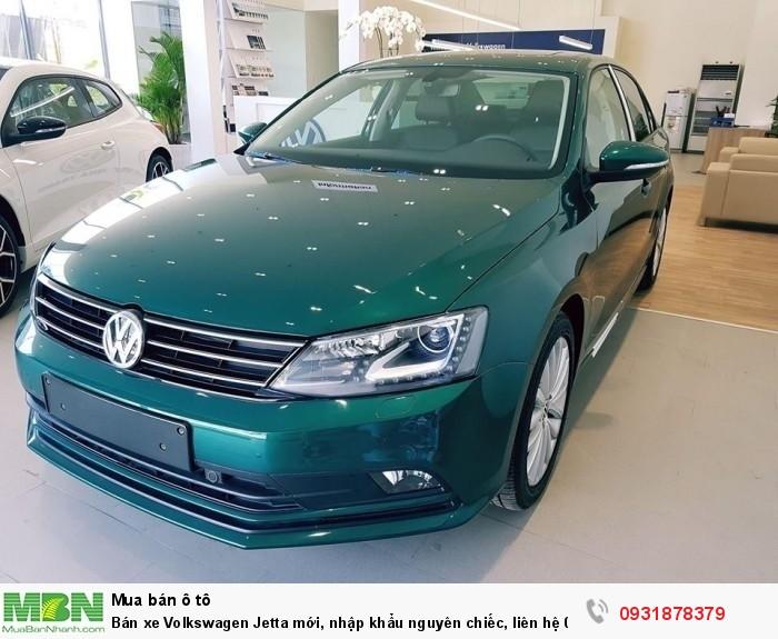 Bán xe Volkswagen Jetta 1.4L TSI mới, nhập khẩu nguyên chiếc, hỗ trợ vay 80% giá trị xe