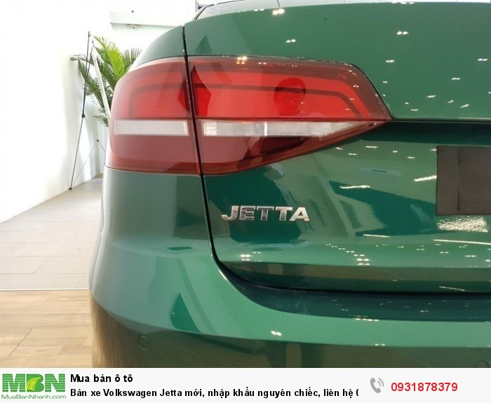 Bán xe Volkswagen Jetta 1.4L TSI mới, nhập khẩu nguyên chiếc, hỗ trợ vay 80% giá trị xe 3