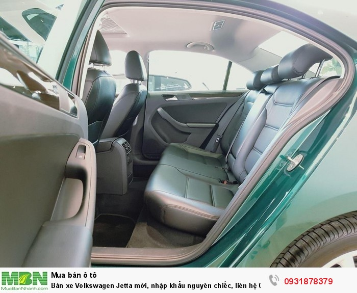 Bán xe Volkswagen Jetta 1.4L TSI mới, nhập khẩu nguyên chiếc, hỗ trợ vay 80% giá trị xe 6