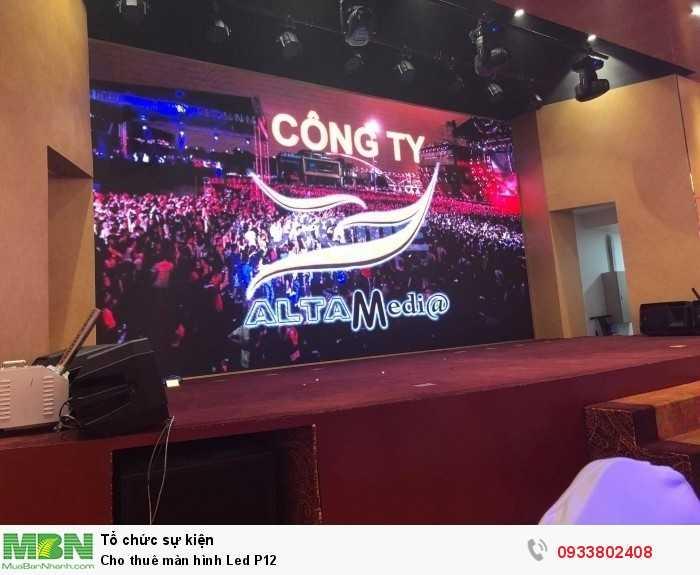 Công ty cho thuê màn hình Led P12 - Màn hình Led Âu Lạc - Alta Media
