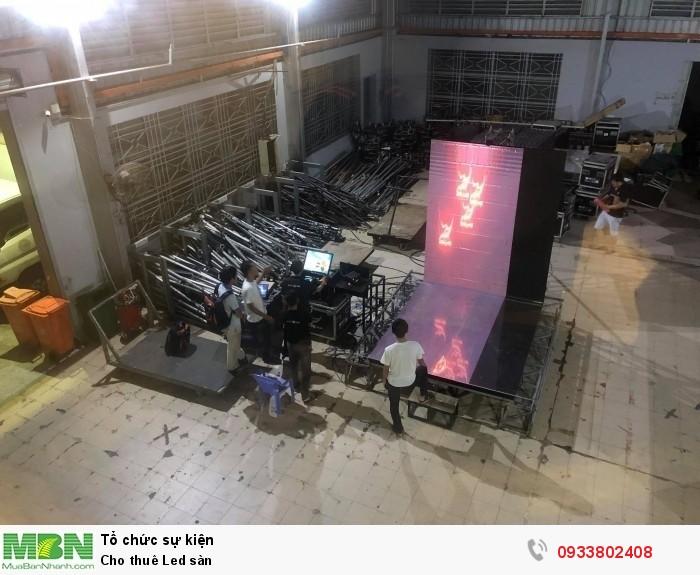 Led sàn cảm ứng từ Màn hình Led Âu Lạc - Alta Media