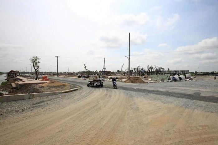 Bán gấp đất đễ đi di cư mặt tiền đường Võ Văn Vân huyện Bình Chánh