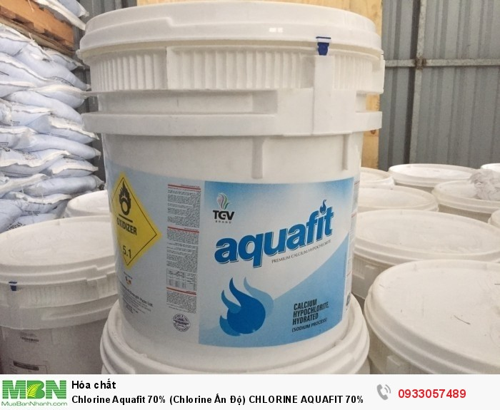 Chlorine Aquafit 70% (Chlorine Ấn Độ) Chlorine Aquafit 70% (Chlorine Ấn Độ)0