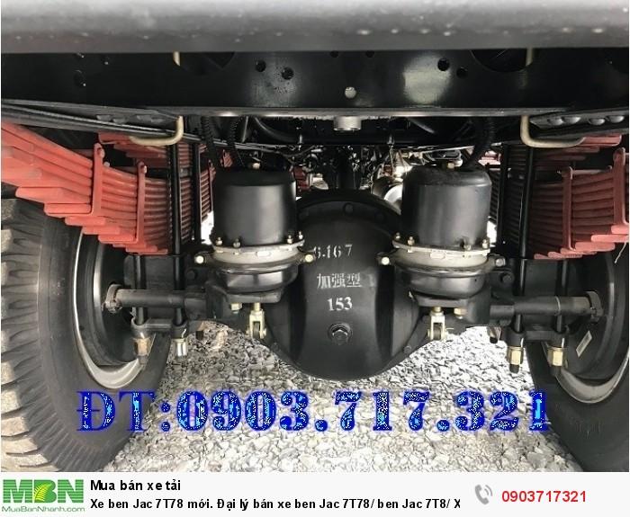 Xe ben Jac 7T78 mới