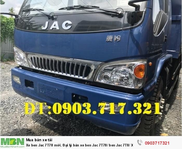 Xe ben Jac 7T78 mới 2
