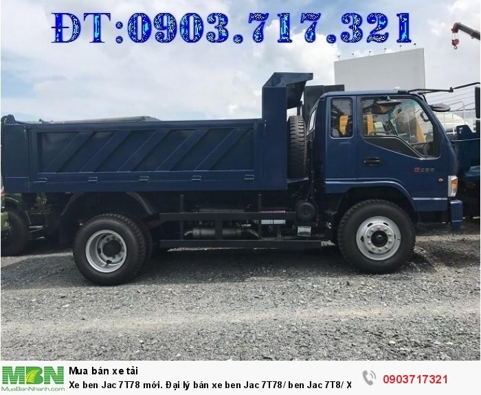 Xe ben Jac 7T78 mới 6