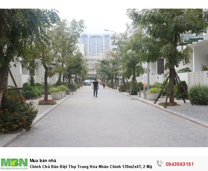 Chính Chủ Bán Biệt Thự Trung Hòa Nhân Chính 170m2x4T, 2 Mặt Tiền
