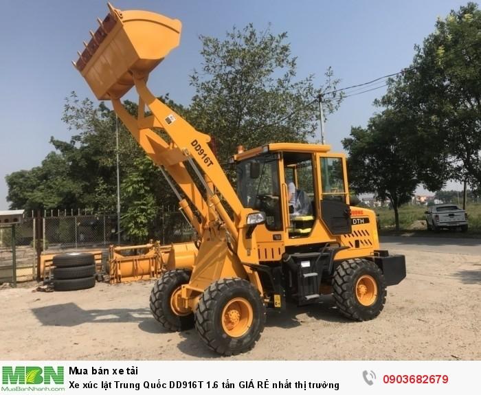Xe xúc lật Trung Quốc DD916T 1.6 tấn GIÁ RẺ nhất thị trường