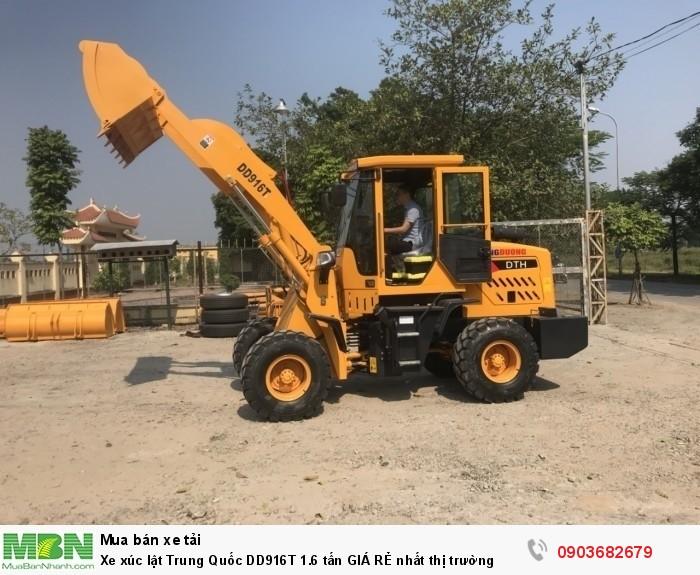 Xe xúc lật Trung Quốc DD916T 1.6 tấn GIÁ RẺ nhất thị trường2