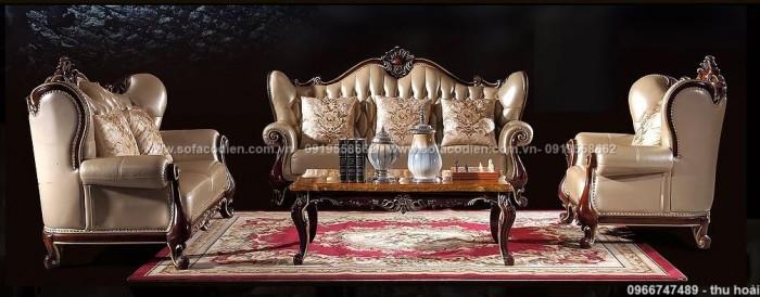 Nội thất phòng khách cổ điển, sofa tân cổ điển tphcm, cần thơ giá rẻ19