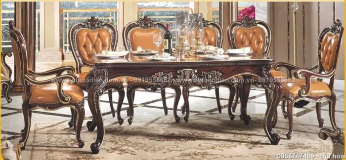 [14] Giá bàn ăn cổ điển TPHCM, Nơi bán bàn ghế ăn tân cổ điển uy tín giá rẻ