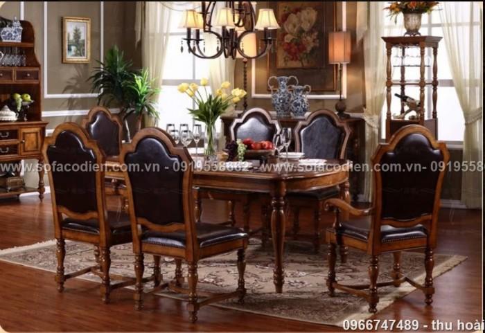 [16] Giá bàn ăn cổ điển TPHCM, Nơi bán bàn ghế ăn tân cổ điển uy tín giá rẻ
