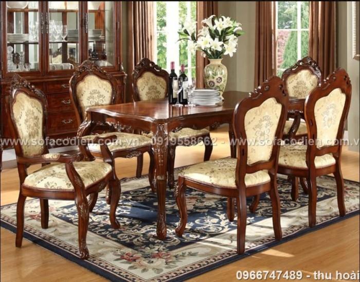 [17] Giá bàn ăn cổ điển TPHCM, Nơi bán bàn ghế ăn tân cổ điển uy tín giá rẻ