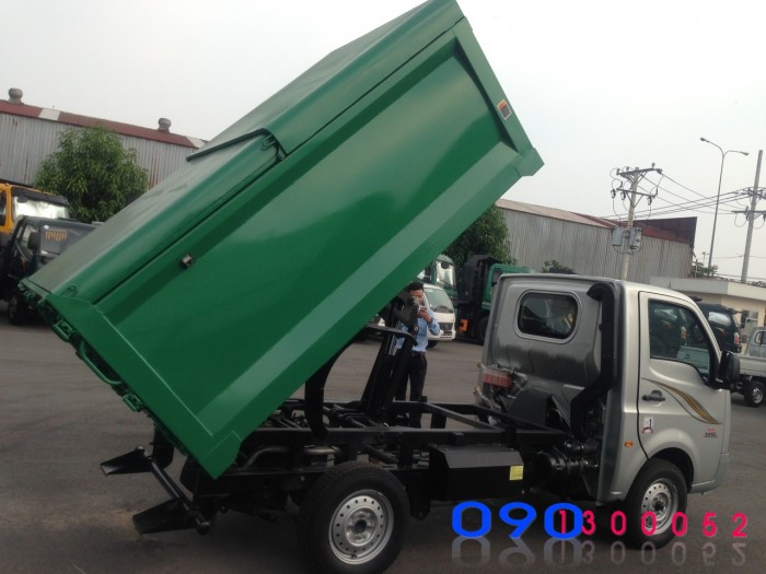 Xe Tải Thùng Ben Chở Rác Tata 1 tấn/ 3.4 khối