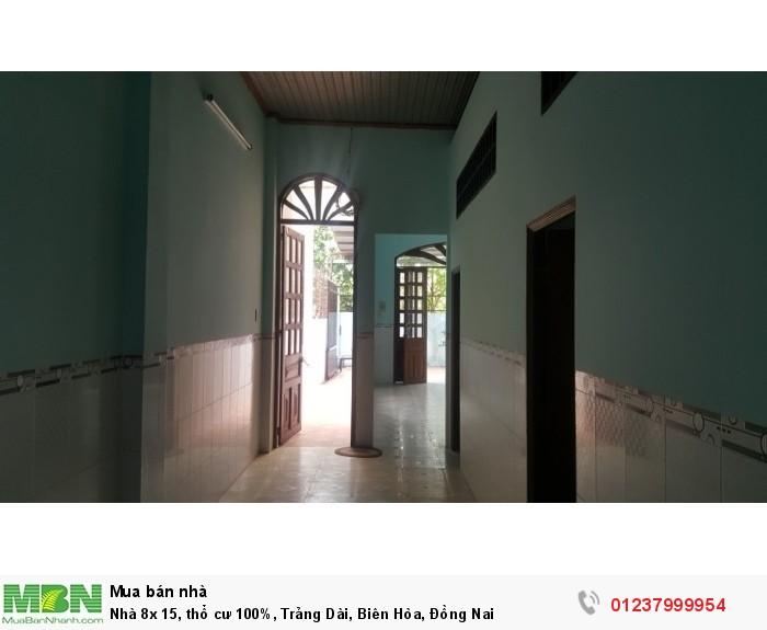 Nhà 8x 15, thổ cư 100%, Trảng Dài, Biên Hòa, Đồng Nai