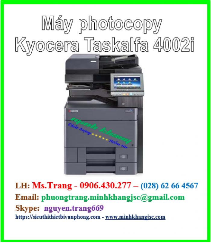 Máy photocopy Kyocera Taskalfa 4002i giá tốt hcm0
