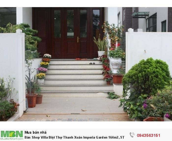 Bán Shop Villa Biệt Thự Thanh Xuân Imperia Garden 164m2, 5T CK 2%