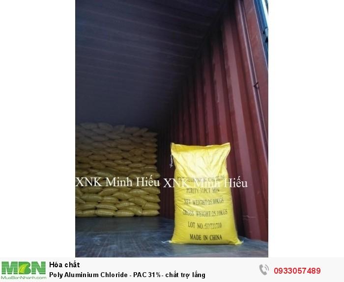 Poly Aluminium Chloride - PAC 31%- chất trợ lắng2