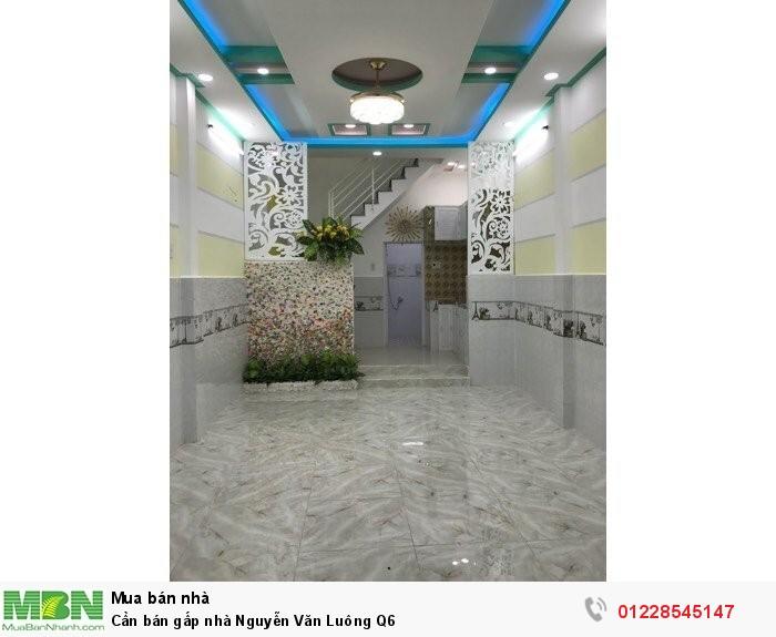 Cần bán gấp nhà Nguyễn Văn Luông Q6