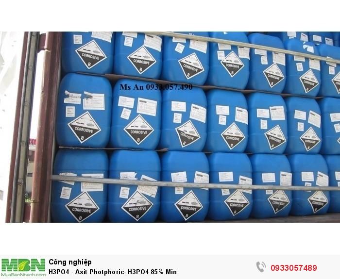 H3PO4 - Axit Photphoric-  H3PO4 85% Min0