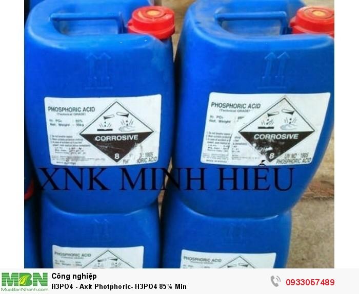 H3PO4 - Axit Photphoric-  H3PO4 85% Min1