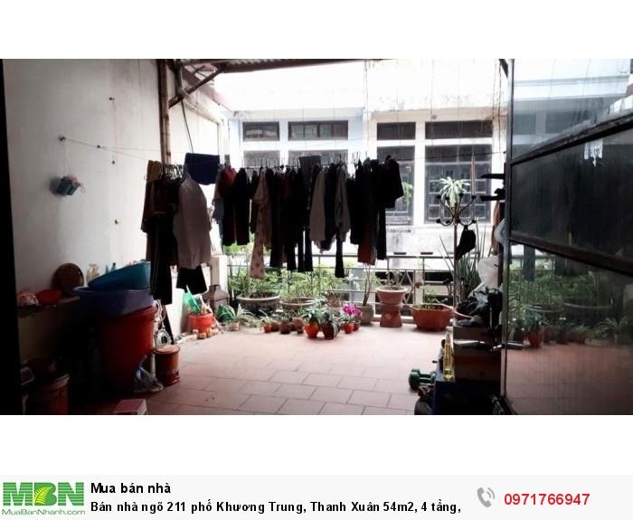 Bán nhà ngõ 211 phố Khương Trung, Thanh Xuân 54m2, 4 tầng, mt 4.6m