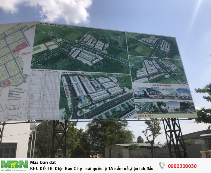 KHU ĐÔ THỊ Điện Bàn CiTy –sát quốc lộ 1A-sầm uất,tiện ích,đầu tư dinh lời cao