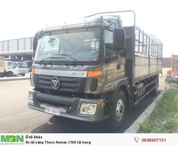Xe tải nặng Thaco Auman C160 tải trọng 15 tấn