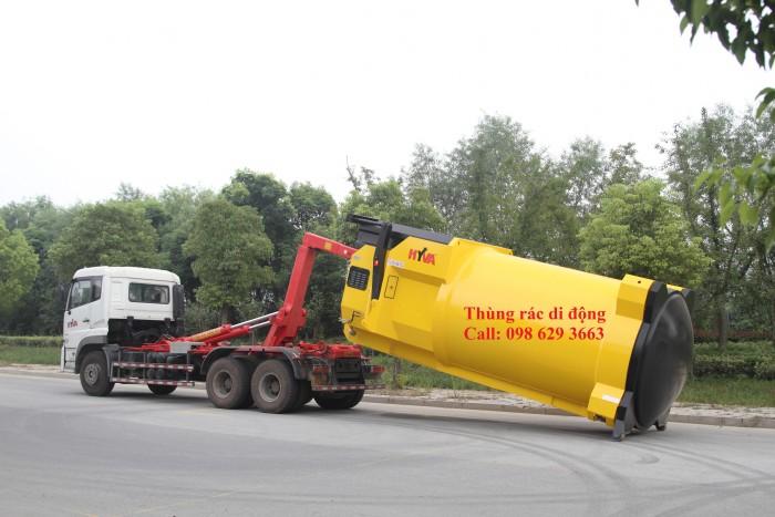 Thiết bị ép rác tự động, ép rác
