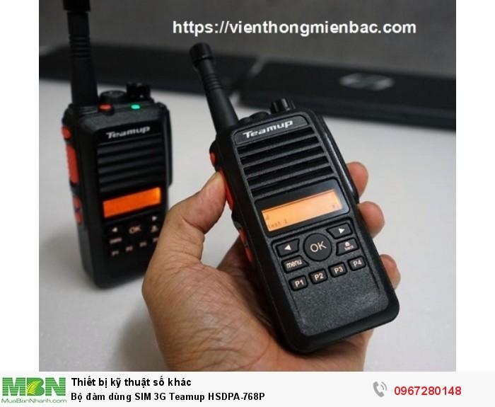 Bộ đàm dùng SIM 3G Teamup HSDPA-768P1