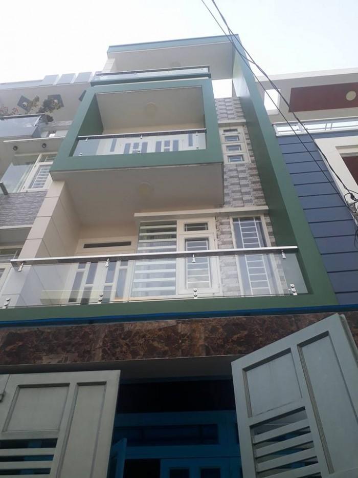 Bán nhà 4 tầng, Phan Huy Ích, P12,Gò vấp, 60m2
