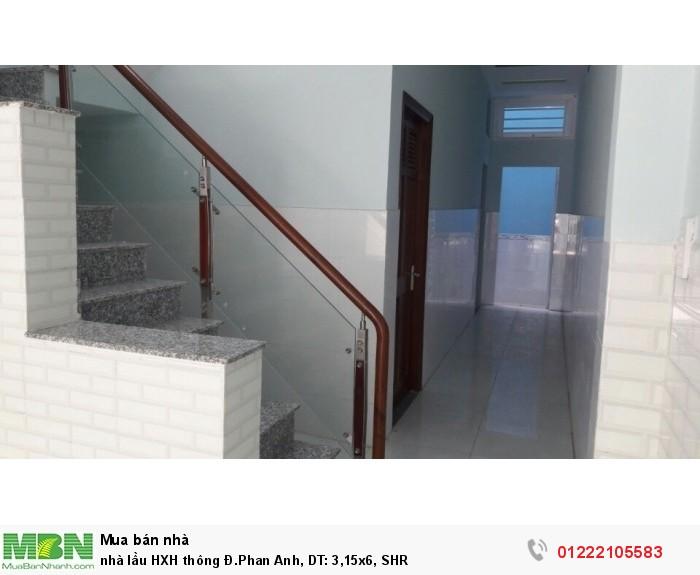 nhà lầu HXH thông Đ.Phan Anh, DT: 3,15x6, SHR