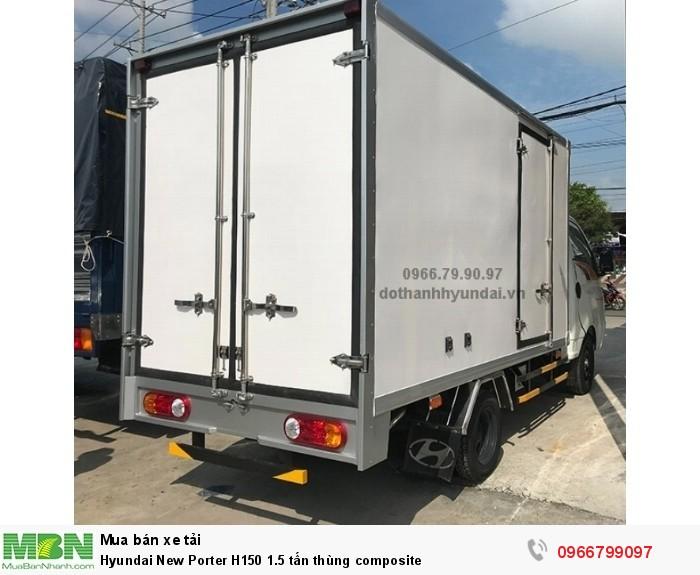 Hyundai New Porter H150 1.5 tấn thùng composite 4