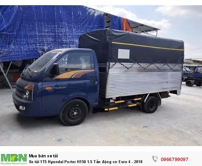 Xe tải 1T5 Hyundai Porter H150 1.5 Tấn động cơ Euro 4 - 2018 0