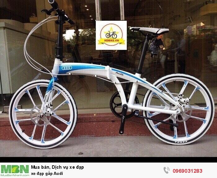 Xe đạp gấp Audi