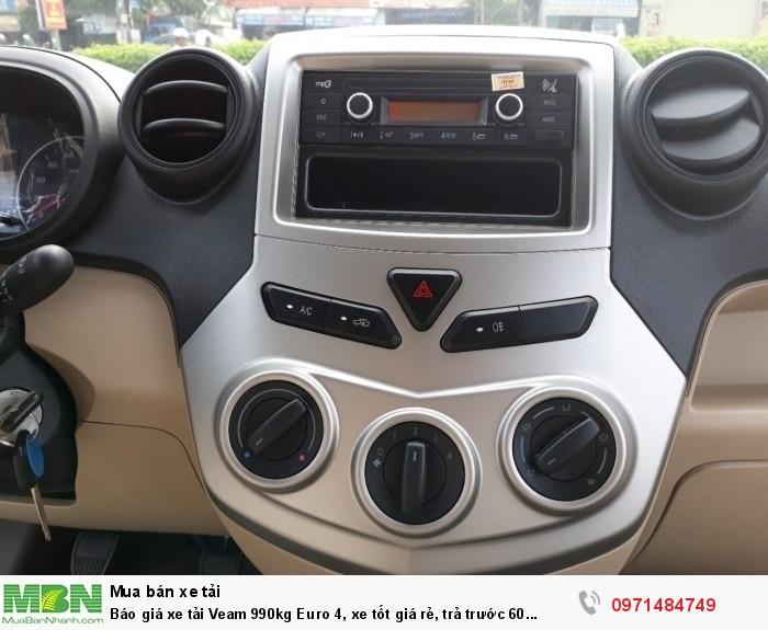 Báo giá Xe tải Veam Pro ( Veam VPT095) - 990 Kg Euro 4, khuyến mãi  tỳ hưu tài lộc , định vị xe