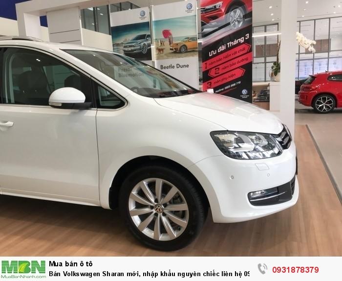 Bán Volkswagen Sharan 2.0L TSI mới, nhập khẩu nguyên chiếc, giao ngay, hỗ trợ vay 80% giá trị xe